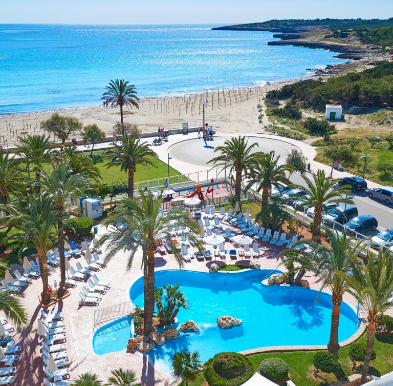 Mallorca Karte Sa Coma.Aparthotel Las Dunas En Cala Millor Mallorca Hipotels